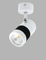 abordables -conduit lumineux 5w magasin de vêtements hôtel chambre lit fond mur lumière cob plafond lumière magasin hall spot