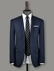 cheap -Slate blue birdseye wool custom suit