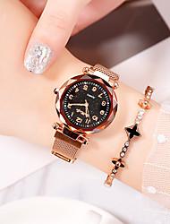 halpa -Naisten Quartz Synteettinen timantti Vapaa-aika Muoti Musta Punainen Violetti Metalliseos Kiina Quartz Musta Ruusukulta Purppura Itsestään valaiseva pimeässä jäljitelmä Diamond 30 m 1 kpl