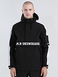 cheap -GSOU SNOW Men's Women's Ski Jacket Skiing Camping / Hiking Winter Sports Waterproof Windproof Warm Polyster Tracksuit Warm Top Ski Wear / Solid Colored