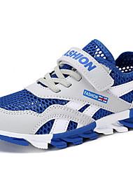رخيصةأون -للصبيان مريح شبكة أحذية رياضية الأطفال الصغار (4-7 سنوات) الركض أزرق / أزرق داكن / رمادي الشتاء