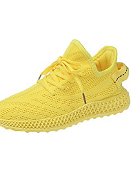 cheap -Women's Athletic Shoes Flat Heel Round Toe Cotton Summer Yellow / Red / Beige
