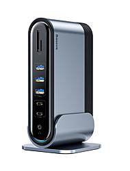 Недорогие -Беспроводное зарядное устройство USB зарядное устройство USB с кабелем / мульти-выход / QC 2,0 4 порта USB 1 A / 0,5 A DC 5 В для универсального