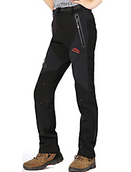 cheap -Women's Hiking Pants Softshell Pants Winter Outdoor Thermal / Warm Waterproof Windproof Breathable Softshell Pants / Trousers Bottoms Camping / Hiking Hunting Climbing Black Red black Purple M L XL