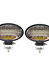 Недорогие -Автомобиль светодиодный рабочий свет овальный 144 Вт лампы 4 ряда 3 цвета мотоцикла вездеходные огни