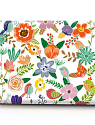 cheap -MacBook Case Flower PVC(PolyVinyl Chloride) for MacBook Pro 13-inch with Retina display / MacBook Air 13-inch / New MacBook Pro 13-inch