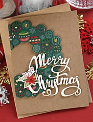 cheap -1 pc Christmas Gift Card For Holiday Greetings