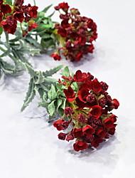 cheap -Skyseen Artificial Flocked Flower Sweet Alyssum Wedding Party Home Decor