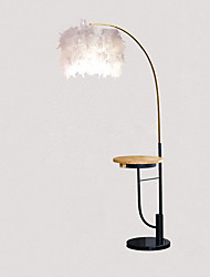 cheap -Artistic / Modern Contemporary Multi-shade / Decorative Floor Lamp / Reading Light For Bedroom / Study Room / Office Metal 110-120V / 220-240V Black