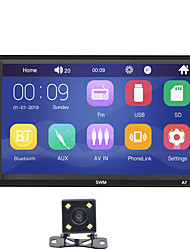 cheap -SWM A7+4LED Camera 7 inch 2 DIN Windows CE Car MP5 Player Car Multimedia Player Touch Screen Built-in Bluetooth / SD / USB Support RCA / HDMI / VGA MPEG / MPG / WMV MP3 / WMA  for universal