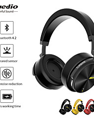 cheap -Bluedio T5S Over-ear Headphone Wired Stereo with Microphone with Volume Control HIFI ANC Active Noice-Cancelling for Mobile Phone