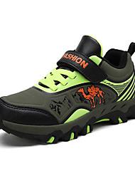 abordables -Garçon Confort Polyuréthane Chaussures d'Athlétisme Grands enfants (7 ans et +) Randonnée Vert / Bleu Automne / Bloc de Couleur