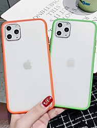 cheap -Case For Apple iPhone 11 / iPhone 11 Pro / iPhone 11 Pro Max Frosted / Translucent Back Cover Transparent TPU / PC