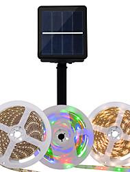 cheap -Solar 3m Flexible LED Strip Lights RGB Tiktok Lights 90 LEDs 2835 SMD 8mm 1Set Mounting Bracket Warm White Christmas New Year's Solar Party Decorative Solar Powered 1 set