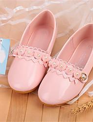 cheap -Girls' Comfort Microfiber Flats Toddler(9m-4ys) / Little Kids(4-7ys) Pearl Pink Spring / Fall