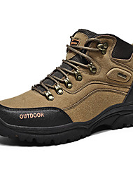 cheap -Men's Comfort Shoes PU Winter Athletic Shoes Hiking Shoes Black / Army Green / Gray