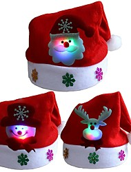 cheap -Christmas Ornaments Non-woven Round Cartoon / Party / Novelty Christmas Decoration
