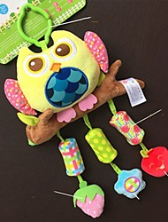 cheap -Babyfans ™ Baby Lovely Bear Shaped Stuffed Music Voice Flexible Activity Educational Hanging Toys
