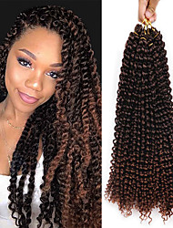 cheap -Crochet Hair Braids Passion Twist Box Braids Natural Color Synthetic Hair Braiding Hair 3-Pack Heat Resistant Ombre Hair
