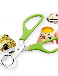cheap -Pigeon Quail Egg Scissor Bird Egg Cutter Opener Egg Slicers Kitchen Housewife Tool Clipper Accessories Gadgets