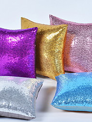 cheap -Set of 1 Cotton Pillow Cover & Insert, Solid Colored Leisure Throw Pillow