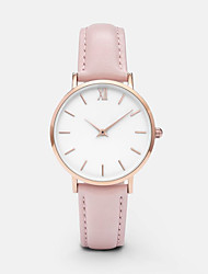 cheap -Women's Quartz Watches Analog Quartz Classic Chronograph Casual Watch Adorable / PU Leather