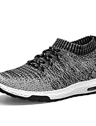 cheap -Men's Comfort Shoes Tissage Volant Fall & Winter Athletic Shoes Running Shoes Black / Orange / Gray