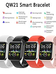 cheap -Couple's Smartwatch Digital Stylish Silicone Black / White / Red 30 m Water Resistant / Waterproof Bluetooth Smart Digital Fashion - Black White Red One Year Battery Life