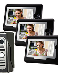 cheap -Wired 7 Inch Hands-free 800*480 Pixel One To One Video Doorphone