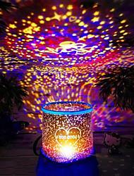 Недорогие -Рождественские подарки Рождественские проекционная лампа (случайный цвет)