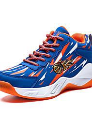 abordables -Garçon Confort Polyuréthane Chaussures d'Athlétisme Grands enfants (7 ans et +) Marche Rouge / Bleu Automne
