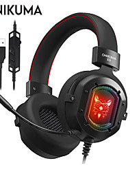 cheap -ONIKUMA K3 Gaming Headset Wired Gaming Stereo Dual Drivers with Microphone