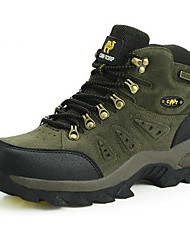cheap -Men's Hiking Shoes Hiking Boots Waterproof Breathable Anti-Slip Wear Resistance High-Top Non-slip Steel Buckle Outsole Pattern Design Running Hunting Fishing Spring &  Fall Summer Army Green Grey