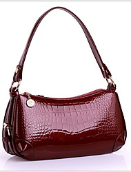 cheap -Women's Zipper Synthetic Top Handle Bag Black / Wine / Dark Blue