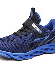 abordables -Garçon Confort Polyuréthane / Flyknit Chaussures d'Athlétisme Grands enfants (7 ans et +) Course à Pied Noir / Dorée / Bleu Automne / Bloc de Couleur