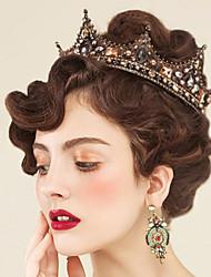 cheap -Alloy Tiaras with Crystal / Rhinestone 1 Piece Wedding / Special Occasion Headpiece
