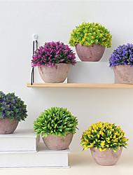 Недорогие -искусственные цветы 1 ветка классическая вечеринка европейские растения настольный цветок
