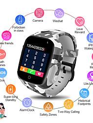 cheap -LEMFO LEC2 Smart Watch Kids GPS 600Mah Battery Baby Smartwatch IP67 Waterproof SOS For Children Support Take Video