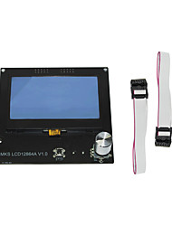cheap -3D Printer MKS 12864A V1.0 LCD Screen Control Panel Display Screen  intelligent display for DIY 3D Printer Accessorie