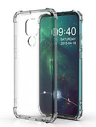 cheap -Case For Huawei Huawei Nova 3i / Huawei Nova 4 / Huawei P20 Shockproof Back Cover Transparent TPU