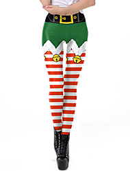 cheap -Santa Suit Pants Women's Adults Christmas Christmas Christmas Pants