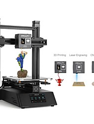 cheap -Creality CP-01 3-in-1 DIY 3D Printer Modular Machine Kit Support Laser Engraving / CNC Cutting 200*200*200 Printing Size With 4.3inch Screen/Power Resume/Removable Glass Plate/Intelligent Leveling