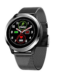 cheap -KUPENG E70S Men Women Smartwatch Android iOS Bluetooth Waterproof Touch Screen Heart Rate Monitor Blood Pressure Measurement Sports ECGPPG Timer Stopwatch Pedometer Call Reminder
