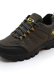 cheap -Men's Comfort Shoes Mesh Winter Athletic Shoes Hiking Shoes Black / Brown / Army Green
