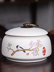 Недорогие -1шт Коробки для хранения Керамика Аксессуар для хранения Для приготовления пищи Посуда