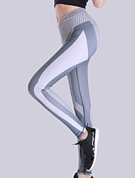 cheap -Women's High Waist Yoga Pants Leggings Butt Lift Gray Elastane Running Fitness Sports Activewear High Elasticity Skinny