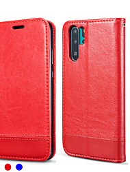 ieftine -Maska Pentru Huawei Huawei P20 / Huawei P20 Pro / Huawei P20 lite Titluar Card / Anti Șoc Carcasă Telefon Mată PU piele