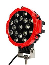 Недорогие -Автомобиль 51 Вт светодиодный рабочий свет 12 В высокой мощности прожектор для внедорожных 4x4 грузовик трактор ATV внедорожник вождения