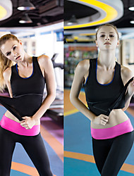 cheap -Women's Running Tank Top Black White Green Red Blue Yoga Fitness Gym Workout Vest / Gilet Tank Top Sleeveless Sport Activewear Breathable Quick Dry Soft Compression High Elasticity
