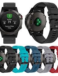 Недорогие -smartwatch группа для garmin fenix6 / feix 5 / forerunner 935 спорт группа мягкий удобный силиконовый ремешок quickfit 22 мм